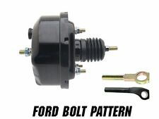 "7"" Single Brake Booster Powder Coated Black with Ford Master Bolt Pattern"