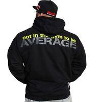 Brachial Hoody NotAverage Schwarz Black Bodybuilding Fitness