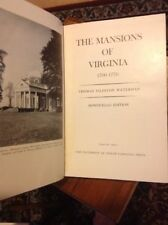 THE MANSIONS OF VIRGINIA  Monticello Edition Signed Jefferson