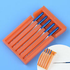 5pcs Steel Blue Tip Needle Size 11 fit for Janome Sewing Machine