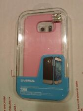 Verus 2Link Case For Samsung Galaxy S6 Edge - Slim Fit Cover - Mint / Pink