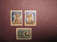 Albania Stamp Scott# 654-656 Imperf. 1st. Group Space Flight 1963 MNH L4B4