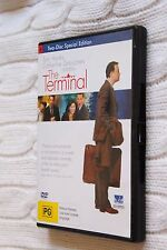 THE TERMINAL (DVD, 2-DISC SPECIAL EDITION) R: 2,4, LIKE NEW(DISCS:NEW) FREE POST