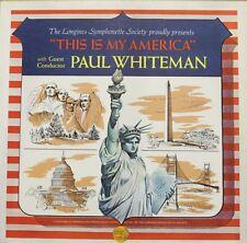 DISCO 33 GIRI - THIS IS MY AMERICA - PAUL WHITEMAN