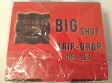 Double Dram Big Shot Drip Drop 3-glass Drinkware Gift Set