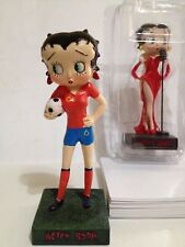 Betty Boop futbolista soccer player  Figure 15 cms new in blister resina