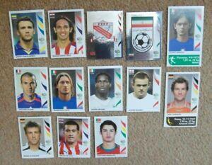 16 Panini 2006 FIFA World Cup Germany Football Stickers# 298  Cristiano Ronaldo