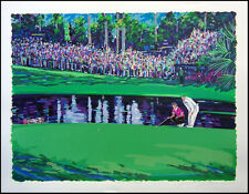 """Steve Bloom """"15th at Masters"""" golf Hand Signed Numbered Art Make an Offer"""