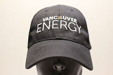 VANCOUVER ENERGY - BLACK - BAYSIDE - ADJUSTABLE BALL CAP HAT!