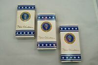 3 PRESIDENTIAL M&Ms BOXES BILL CLINTON SIGNATURE COLLECTION
