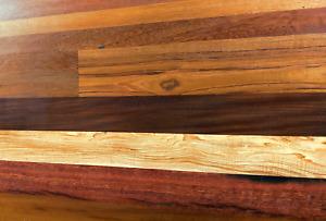 Bespoke Kitchen Worktops & Table Tops - 100% Reclaimed Hardwood Timber Wood