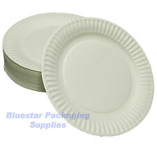 1000 X 18cm White Quality Paper Party Snack Plates