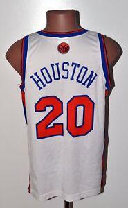 NBA NEW YORK KNICKS BASKETBALL SHIRT JERSEY #20 HOUSTON CHAMPION SIZE M ADULT