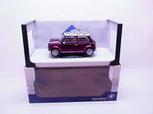 80057 Solido S1800606 Mini Cooper Purple Lila-Met. Sport Modellino Auto 1:18