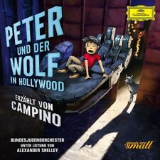 Peter und der Wolf in Hollywood, 1 Audio-CD (Deluxe Edt.) CD Campino/Bundesjug..