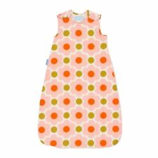 Orla Kiely Side Zip Grobag 1.0 Tog 18-36cm Daisy Spot Baby Sleep Bag Comfort