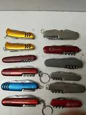12 swiss army style knives / sn1538