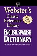 Webster's English SPANISH Dictionary by American Education Publishing Paperback