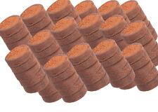 100 Kokosquelltöpfe 36 mm Coco Anzuchtballen Cocosquelltabs Substrattabletten