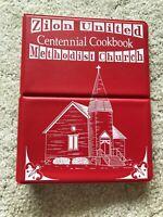 SPENCER IOWA VTG Zion Methodist Church History Cook book recipes community