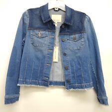New Rebecca Taylor Womens Lovely Blue Jean Work Jacket US 2
