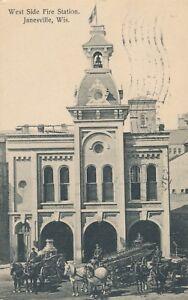 JANESVILLE WI – West Side Fire Station - 1908