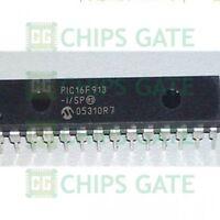 1PCS PIC16F913-I/SP DIP28 MICROCHIP