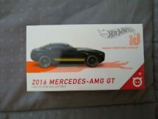 HOT WHEELS ID 2016 MERCEDES -AMG GT COLLECTIBLE UNIQUELY IDENTIFIABLE VEHICLE
