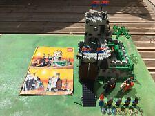 Rare Château Fort Chevalier  Lego Ref 6081 Legoland Vintage Complet Avec Notice
