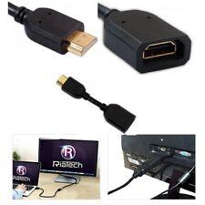 HDMI Câble D'Extension Extender pour Chrome-Cast, Fire TV Stick HDMI Mâle à Femelle
