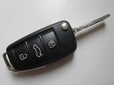 USED OEM AUDI FLIP KEY KEYLESS ENTRY REMOTE FOB IYZ3314 -Please read description