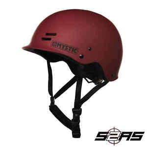 2021 Mystic Predator Wakeboarding Helmet (Dark Red)