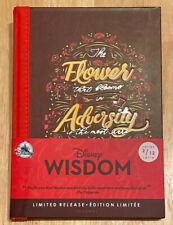 NEW Disney Store Wisdom February Mushu Mulan Dragon Journal Limited Edition