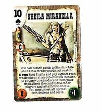 Doomtown: Sheila Mirabella [NM/Lightly Played] Episode 4 Deadlands CCG