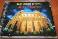 PAR LINDH PROJECT Live in America !!! 2CD CRIMSONIC REC NO BARCODE RARE PROG