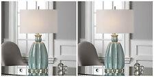 Uttermost 27251 Suzanette Table Lamp Sky Blue Ceramic