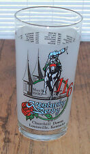 Kentucky Derby Glass Tumbler Churchill Downs #116 1990 Collectible Glassware