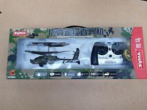 Syma Helicopter Remote Control Apache Gyro