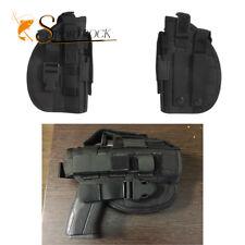 600D Molle Airsoft Taktische Schießpistole Holster Tasche für die rechte Hand