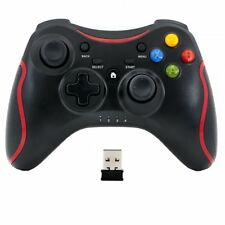 Wireless Manette Controller pour PC Windows 7 10 Joypad noir Game Pad à distance