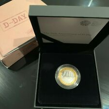 D-Day £2 Coin Silver Proof - 75th Anniversary - 2019 DDay Two Pound Royal Mint
