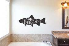 Life is Better at the Lake - Vinyl Decal Wall Decor Sticker Family Lakehouse