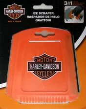 Harley Davidson HD motor cycle window ice chipper scraper plastic heavy duty 3n1