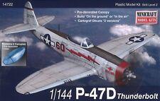 Minicraft Models USAF P-47D 1:144 NIB