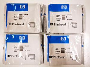 4er HP 11 Nr.11 - C4810A C4811A C4812A C4813A   Druckkopf Printhead Set Satz neu