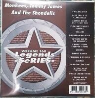 LEGENDS KARAOKE CDG MONKEES,TOMMY JAMES & THE SHONDELLS OLDIES #168 17 SONGS 7