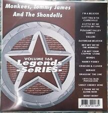 LEGENDS KARAOKE CDG MONKEES,TOMMY JAMES & THE SHONDELLS OLDIES 168 17 SONGS 7