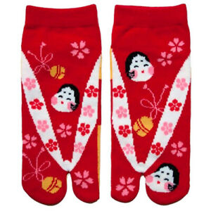 Japanese Ladies Tabi Socks Otafuku UK Stock