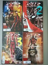 Deadpool Kills The Marvel Universe #1,2,3,4 VF/NM Complete Set Bunn Talajic Lot