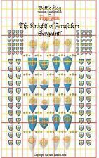 Knights of Jerusalem Sergeants. Official Fireforge Decals by Battle Flag